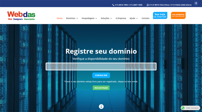 Hospedagem de Sites, Blogs e E-commerce em Jundiaí